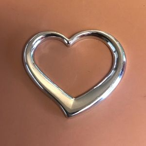 Jewelry - 925 Sterling Silver Floating Heart